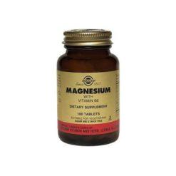 Solgar Magnesium Vitamin B6        100 Tablets