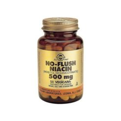 Solgar No Flush Niacin 500mg        50 Tablets