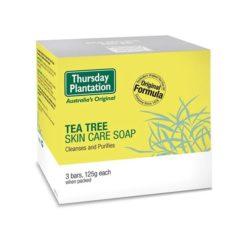 Thursday Plantation Tea Tree Skin Care Soap        3x125g